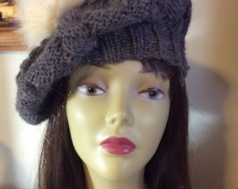 Beret style slouchy