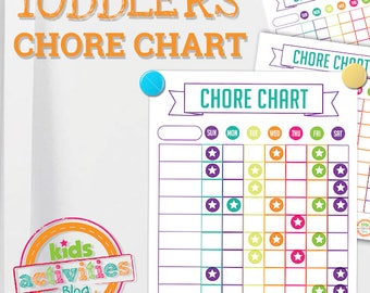 chore chart template for teenagers