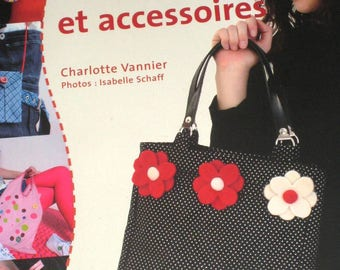 Book sewing bags and accessories