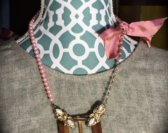 Buckle Up - Assemblage Necklace