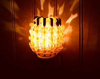 Hyacinth Orange Night Lights