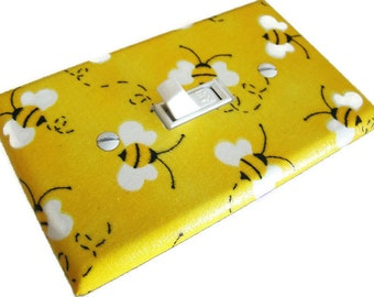 BUMBLE BEES Light Switch Cover Plate Switchplate
