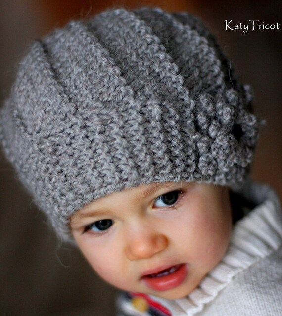 PDF Knitting Pattern Hat and Cowl COOL WOOL Toddler Child