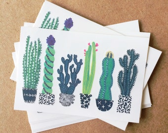 cactus tattoos colorful greenery temporary tattoos southwest botanical plants tattoos green black white floral illustration valentines gift