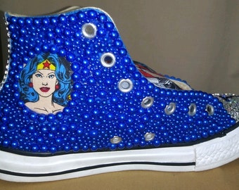 Custom Superhero Converse