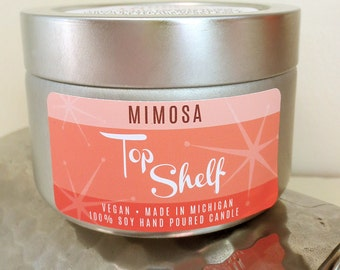 Mimosa Soy Candle - Top Shelf Collection