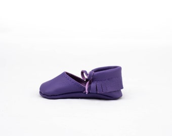 GRAPE || mary jane moccasin