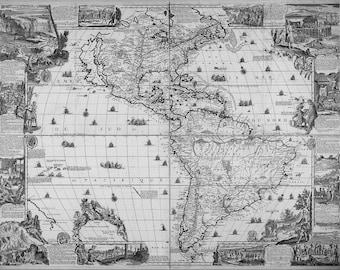 Canvas, World map art, Canvas painting, Wall art canvas, World map canvas, Wall art prints, 90