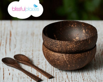 Natural Handmade Coconut Bowl