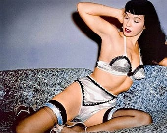 Bettie Page 1950's Pinup girl.