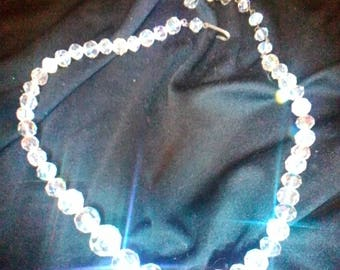 Stunning Aura Crystal Necklace