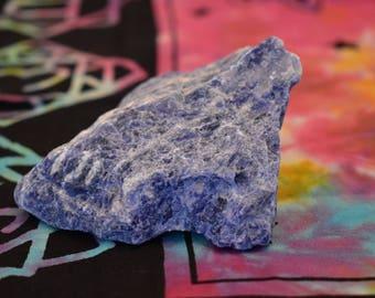 Huge Sodalite Chunk  - Raw Sodalite   - Healing Crystal - Metaphysical - Chakra - Sodalite  - Ahimsa