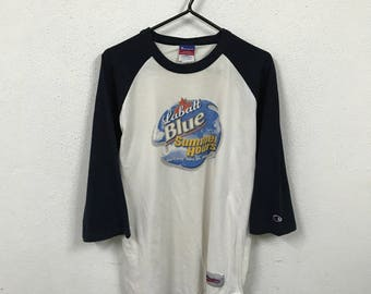Vintage Champion 3/4 Sleeve T Shirt