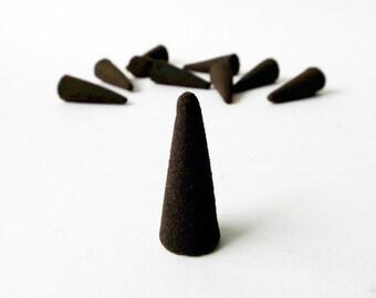 Hand of Fatima Cone Incense - Hamsa Hand, Protection incense, Wiccan, Pagan, Meditation, Ritual incense, Altar incense