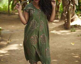 Guchha Bias Dress
