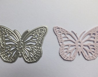1 small Metal Cutting Die Butterfly Cards Scrapbooks