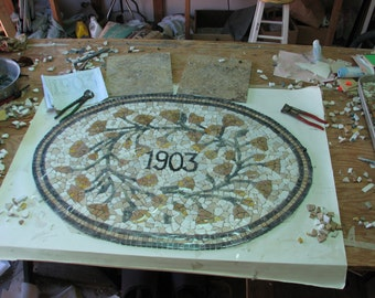 Historical Mosaic commission for 1903 renovation.