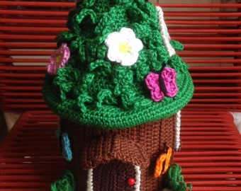The Crochetted Fairy House