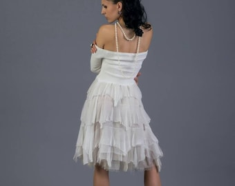 Milk White Dress