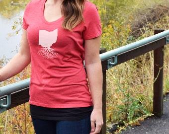 Women's Ohio Roots Shirt