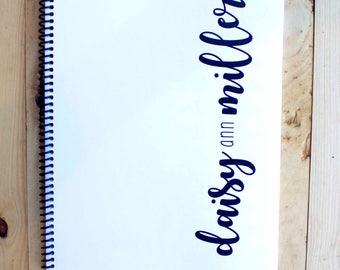 MODERN  BABY BOOK, Baby Memory Book, Baby Shower Gift, Baby Gift, Baby Shower, Baby Album, Keepsake Baby Book