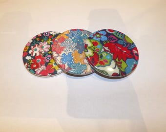 """your multicoloured liberty print Pocket mirror"""