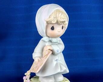 March Precious Moments Figurine