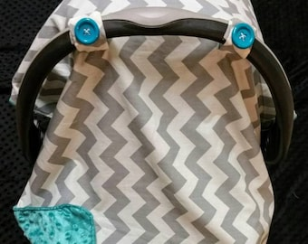Crochet Pattern Chevron Car Seat Canopy