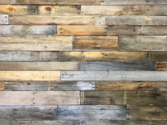 reclaimed pallet wood 25 sq ft dismantled pallet boards reclaimed wood planks wood wall covering shiplap pallet wall accent wall from - Pallet Wall
