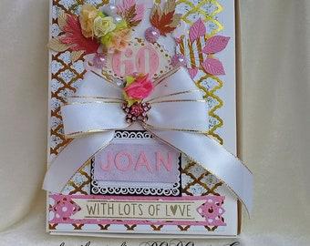 Card box. Birthday gift box. Photo keepsake box. Presentation box. Photo box. Anniversary box. Memory box.