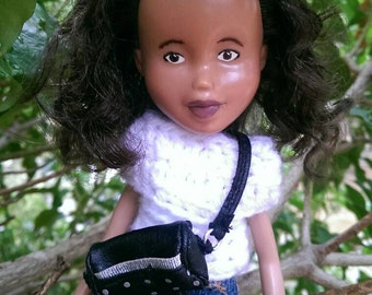 Sonia Doll - Recycled Restyled Bratz Doll OOAK One of a kind - by Best Friend Dolls Store
