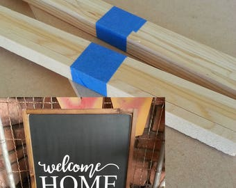 """Kit for Welcome Home sign - 20"""" x 20"""""""