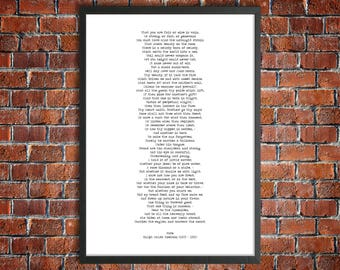 Emerson Printable Poetry 'Fate' Instant Download Poem American History Print Philosophy Printable Transcendentalism Fate Poem Instant Gift