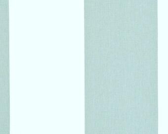 2 yards Kaitlin Snowy Blue White Vertical Stripes -  Home Decor Fabric - Premier Prints  - Pale Blue White
