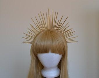 Custom Made to Order Sunburst Crown