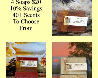 Homemade Soap Sale, Handmade Soap Sale, Handcrafted Soap Sale. Natural Soap Sale, Birthday Gifts For Mom, Mothers Day Gift For Her