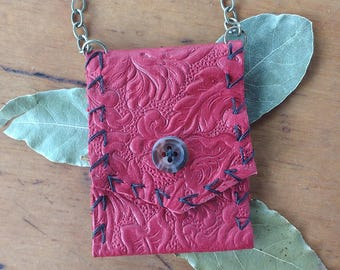 Gypsy Magic Leather Medicine Bag