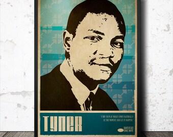 McCoy Tyner Jazz Art Poster