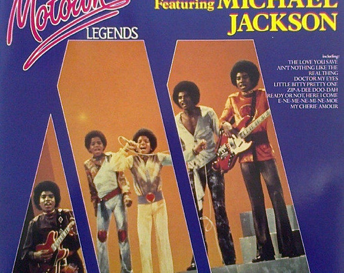 "Featured listing image: The Jackson 5 featuring Michael Jackson - ""Motown Legends"" vinyl"