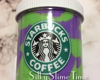Large Unicorn Frappuccino Slime - Starbucks Slime