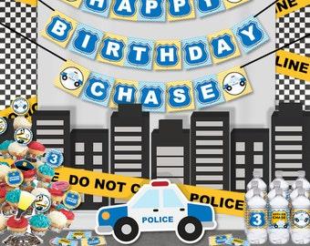 Police birthday Etsy