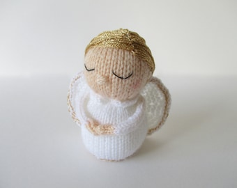 Gabriella Angel toy doll knitting pattern