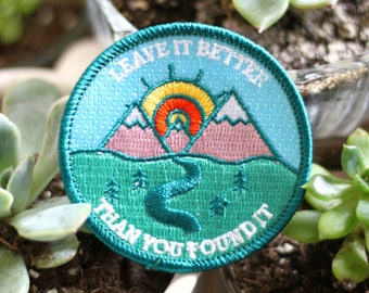 Leave it Better than You Found It Adventure Patch