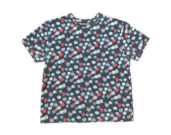 Vintage 90s Thick Floral T-Shirt