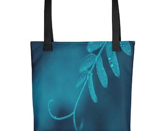 Lake Blue Vicia Tote bag