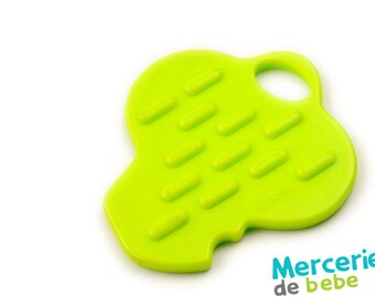Green decorative element - shaped key - C34 - V9