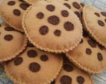 Cookie Toss Bean Bags - set of 3, 4, 5, or 6!