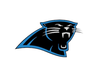 Carolina Panthers SVG File - Vector Design in, Svg, Eps, Dxf, and Jpeg Format for Cricut and Silhouette, Digital download