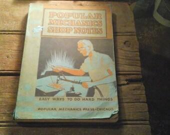 Popular Mechanics Shop Notes book