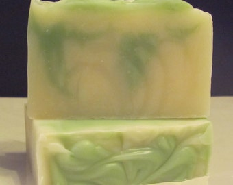 KEY LIME Natural Handmade Cold Process Soap
